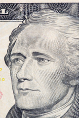 us dollar macro close up