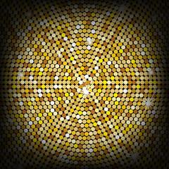Golden background, vector