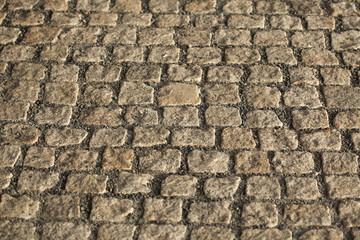 Cobbled Pavement Texture
