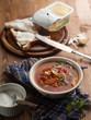canvas print picture - Vegetable soup