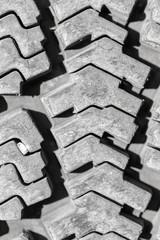 background of the wheel tread