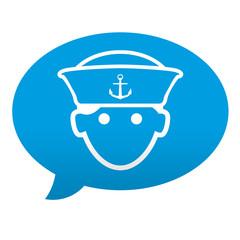 Etiqueta tipo app comentario marinero