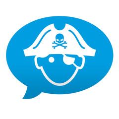 Etiqueta tipo app comentario pirata
