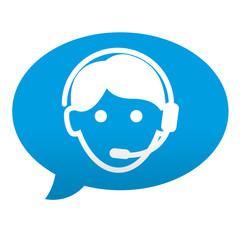 Etiqueta tipo app comentario teleoperador