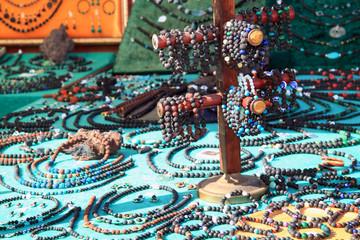 Jewelry made of lava stone