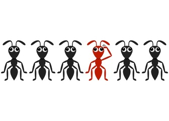 Ant cartoon characters
