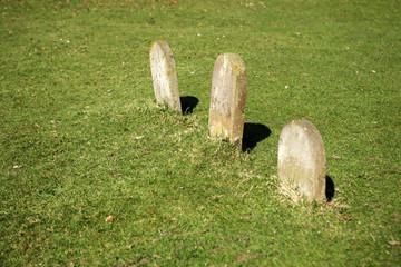 head stones