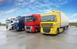 Truck in warehouse - Cargo Transport - 76299083