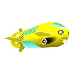 deep bathyscaphe