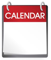 Calendar Blank 2014