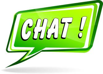 chat green speech