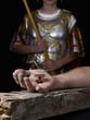 Obrazy na płótnie, fototapety, zdjęcia, fotoobrazy drukowane : Hand of Christ, nailed to the cross