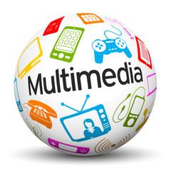 Kugel, Multimedia, Icon, Symbol, Entertainment, Sphere, 3D, Ball