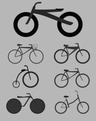 Illustrations Bicycles