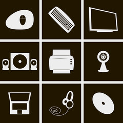 icons computer things