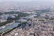 canvas print picture - Paris vom Eifelturm