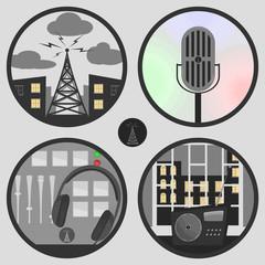 icons radio