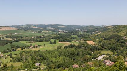 View from France's Cordes-sur-Ciel