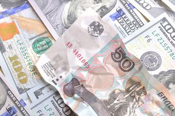 money dollars rubles