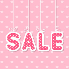Valentines day sale concept for Your design
