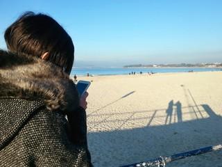 Enero en la playa