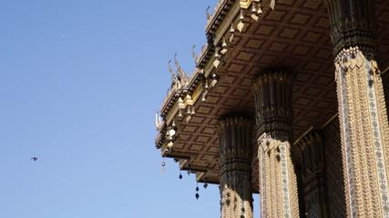 bells over Buddha temple