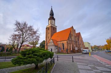 Church in Olesnica, Poland