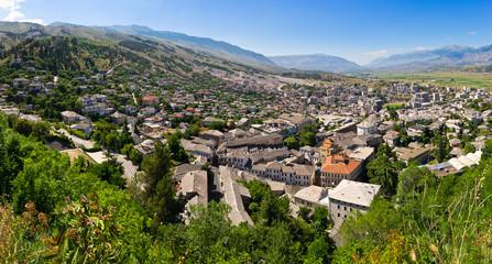 Gjirokaster  - town of silver roofs, Albania