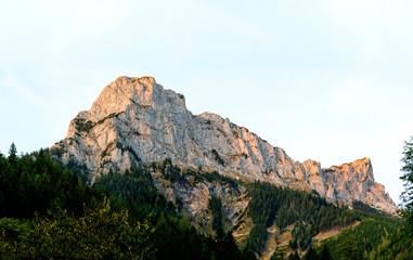 Beautiful mountain landscape in the Austrian Alps
