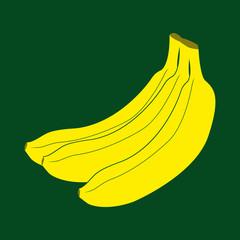 Иконка бананов