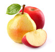 Pear with apple