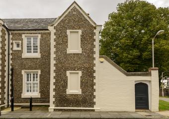 cobble facade, Chichester