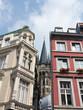 Aachener Stadthäuser mit Blick auf den Aachener Dom