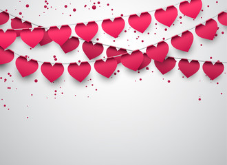 Love party celebration background.