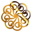 goldene  Mandala Form...