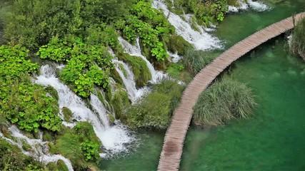 Plitvice Lakes in Croatia