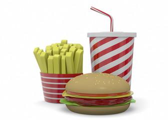 Fast Food - 3D