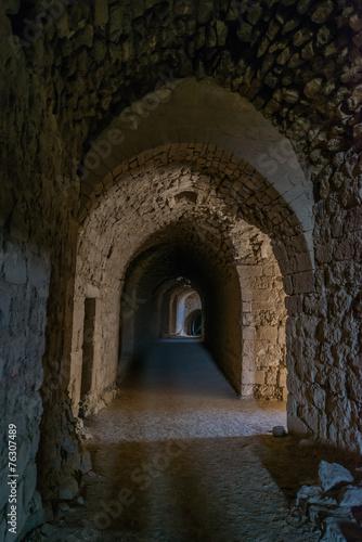 Al Karak kerak crusader castle fortress Jordan - 76307489