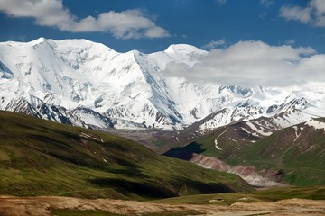 Pamir mountains - roof of the world - Kyrgyzstan