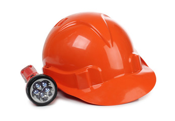 Helmet whit lantern