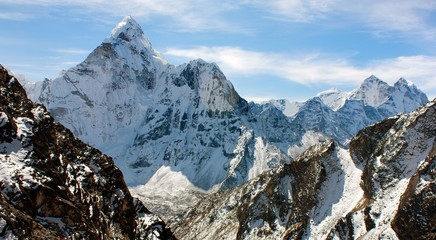 Ama Dablam - trek to Everest base camp - Nepal
