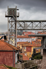 Old City of Porto Urban Scenery