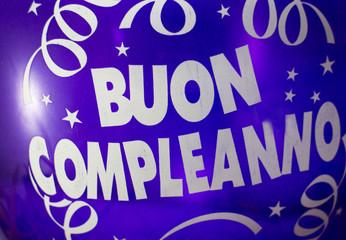 """palloncino """"Buon Compleanno"""""""