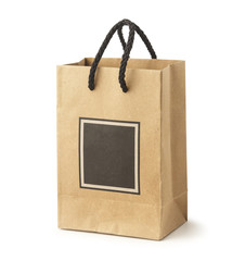 Carrier Paper Bag Brown