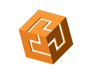 Box Digital Puzzle Cube 3