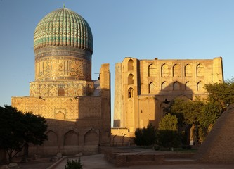 Bibi-Khanym mosque - Samarkand