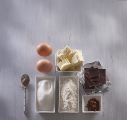 Ingredients for baking and pastry