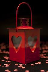 Lantern with Hearts