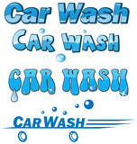 car wash symbol set isolated on white - 76311406