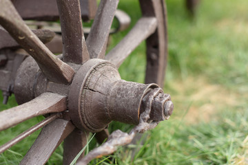 Old Cart's Wheel